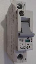 ALLEN BRADLEY 1492-SP1C040  1492-SP C4 4A CIRCUIT BREAKER 1 POLE 4 AMP