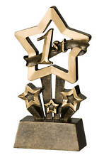 1st Place Star Resin Trophy FREE ENGRAVING
