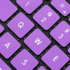 """REDUCE OVERHEAT ! PURPLE Silicone Keyboard Cover for Macbook Pro 15"""" A1286"""