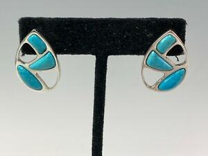 Jay King DTR Sterling Silver & Turquoise Earrings