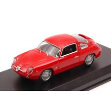 FIAT ABARTH 750 ZAGATO 1958 RED PROVA 1:43 Best Model Auto Stradali Die Cast