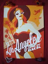 BEAUTIFUL LOS ANGELES TOM WHALEN TERMINATOR ORIGINAL MOVIE POSTER ART P.P.#1of5!
