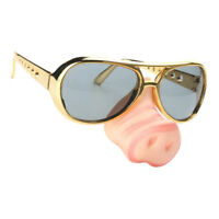 Funny Kids Pig Nose Sunglasses Piggy Snout Eye Glasses Fancy Dress Costume