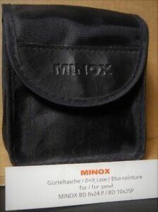Minox Belt Case for  BD8x24P  orBD10x25P Binoculars. Genuine. NEW !