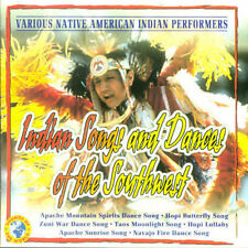 VARIOUS ARTISTS - INDIAN SONGS AND DANCES OF THE SOUTHWEST NEW CD