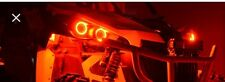 Can-Am Halo Rings headlights - angel eye set 4 Canam commander / Maverick - Red
