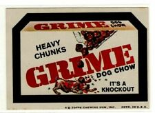 1974 Rare Topps Wacky Packages Grime Heavy Chunks 7th Series 7 Pulled Card EX+