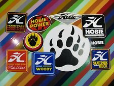 vtg 1970s Hobie skateboards sticker - Skatepark Rider Flex Mike Weed Woody +