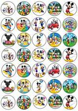 35 MICKEY MOUSE CLUBHOUSE COMMESTIBILE Cup Cake Fata CHIGNON DECORAZIONI PER PARTY WAFER