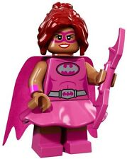 LEGO PINK POWER BATGIRL THE BATMAN MOVIE MINIFIGURE SERIES 71017 NEW #10 LOW $