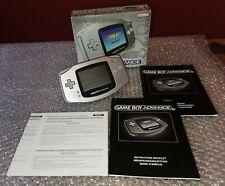 Nintendo Game Boy Gameboy Advance 32 Bit Limited Platinum OVP Top Zustand! RAR