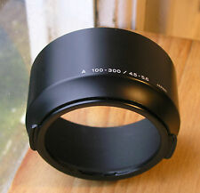 Genuine Minolta AF 100-300 mm 100 300 F4.5 5.6 Lens Hood, Clip en
