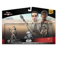 NEW DISNEY INFINITY 3.0 STAR WARS The Force Awakens Playset Finn & Rey PS4 Xbox