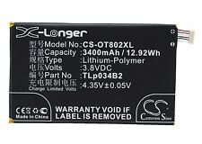 3.8V Battery for Alcatel OT-8020X OT-A995L TCL TLp034B1 Premium Cell UK NEW