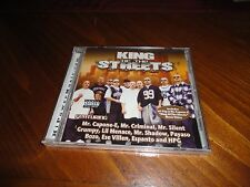 Chicano Rap CD KING of the STREETS - BOZO Ese Villen ESPANTO Mr. Criminal GRUMPY