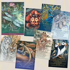 SPIRIT OF THE ANIMALS ORACLE POWERFUL JODY BERGSMA 52 Cards 116 page Guidebook