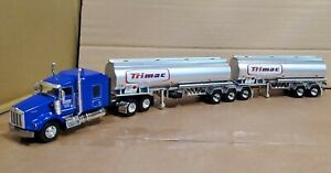 Custom 1/64 kenworth t800 Trimac Canadian Super b tanker  dcp first gear