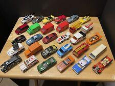 Mixed Lot Of 30 Hot Wheels Majorette Matchbox & Other Loose Cars & Trucks