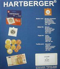 Hartberger coincard bladen S 2x3 voor onder andere de coincards van Luxemburg