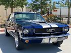 1966 Ford Mustang  1966 Ford Mustang 5.0L Fuel Injection Swap Supercharger Restomod \@ No Reserve