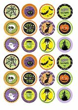 24 Edible cake toppers decorations ND2 Spooky Halloween children's