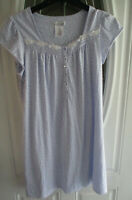 Celestial Dreams By Komar Nightgown Women's Size Small Lavender Floral Print Sho