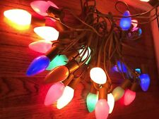 Vintage String Christmas Lights Tested 25 GE C9 Indoor Outdoor