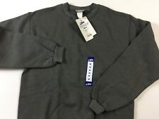 Vintage BIKE Mens NWT Made In USA Heavy Weight Crew Sweat Shirt Gray Tag Size M
