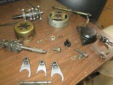 1983 Yamaha YT175 Oil Pump Cover Flywheel Shift Shaft Forks Oil Cap Parts Lot