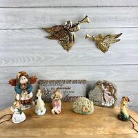 Vintage Whimsical Angel Figurine Lot
