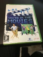 You're In The Movies  Game For The Xbox 360 - Camera Not Included BRAND NEW