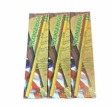 Ticonderoga Pencils 2 Hb Cedar Wood Latex Free 12 Count Each Pack Lot Of 3