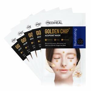 [ MEDIHEAL ] Golden Chip Acupoint Mask 5-PACK