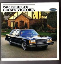 Other For Ford Victoria Manuals And Literature Sale Ebay. 1987 Ford Ltd Crown Victoria Brochurelxcountry Squire. Ford. Distribuitor Schematics 1988 Ford Ltd Crown Victoria At Scoala.co