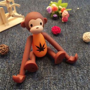 1pc Orange Universal cartoon monkey desk phone holder mount