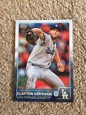 +++ Camiseta Clayton Kershaw 2015 Tarjeta de béisbol Topps ASG #AS1 - +++ de los Dodgers de Los Angeles