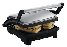 RUSSELL HOBBS 17888 3-in-1 PANINI, GRILL & GRIDDLE, STAINLESS STEEL  ***NEW ***