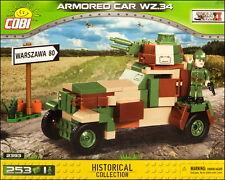 COBI Wz.34 (2393) - 253 elem. - WWII Polish armoured car