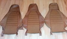 Porsche 911 Carrera 930 seat covers upholstery nos cinnamon & shetland cloth