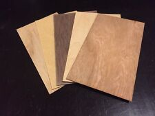 100 Blank Veneer Wood Card Business Card Size