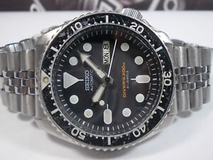SEIKO SCUBA DIVERS SKX007J 'MADE IN JAPAN' MENS WATCH 7S26-0020 (SN 810158)