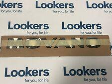 Genuine Vauxhall Movano B MK2 Rear Back Door Badge 2010-Onwards 93197999