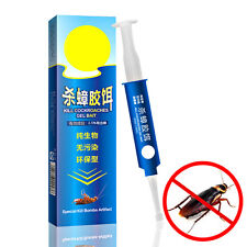 10g Powerful Anti Cockroach Pesticide Control Gel Bait Drug Poison Nest Syring
