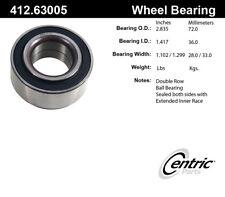 Wheel Bearing-C-TEK Bearings Front Centric 412.63005E