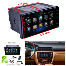 """7""""Car Dual Core For Android Bluetooth MP5 Player Wifi GPS Navigation FM/AM Radio"""