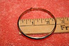 925 Bangle Bracelet Vintage Fas Gold over