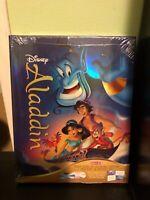 Disney Aladdin Target Exclusive Blu Ray+DVD+Digital Copy+Storybook