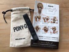 PONY-O Hair Tie -GENUINE- Beware Fakes- BLACK CLASSIC - SLIM PONYO Instagram