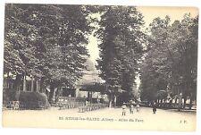 CPA 03 - NERIS LES BAINS (Allier) - 22. Allée du Parc