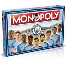 Manchester City Fc Man City Edition Monopoly Family Board Game